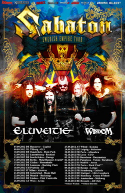 Sabaton - Swedish Empire Tour