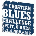 ČETVRTI CROATIAN BLUES CHALLENGE, SPLIT, O'HARA, 2.-4.11.2112. SPONA MUSIC