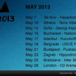 IT'S OFFICIAL: DEPECHE MODE IN ZAGREB ON 23RD OF MAY 2013