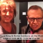 BREAKING NEWS: LARRY KING A NEW SINGER OF BON JOVI!