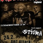 EXTREME NOISE TERROR, STIGMA 24.02. 2013.@ AKC ATTACK! &#8211; ZAGREB