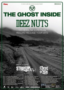 THE GHOST INSIDE + DEEZ NUTS + STRAY FROM THE PATH + DEVIL IN ME – BEČ, ARENA – 07.02.2013.