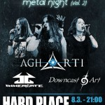 () FEMALE FRONTED METAL NIGHT VOL. 2- OSVOJITE CD GRUPE AGHARTI I INNERGATE