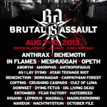 BRUTAL ASSAULT ANNOUNCES NEW BANDS!