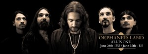 ORPHANED LAND: LET THE TRUCE BE KNOWN LYRIC VIDEO