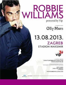 robbie williams zagreb