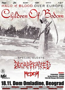 Children of Bodom in BG