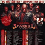 STARKILL ANNOUNCED AS A SUPPORT ACT FOR TURISAS' 2014 TOUR