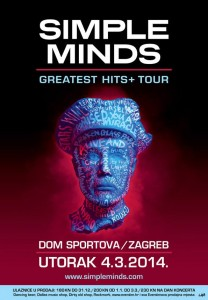 SIMPLE MINDS Dom Sportova