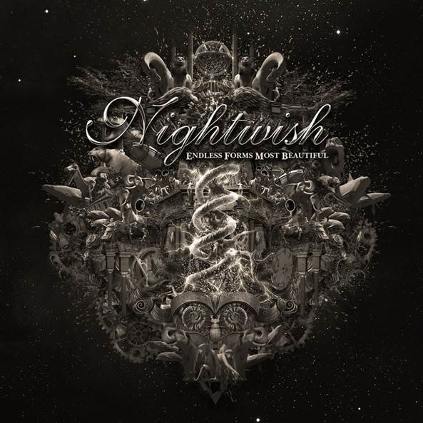 nightwish - endless forms cd