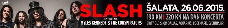 Slash feat. Myles Kennedy & The Conspirators – Zagreb, Šalata, 26.06.2015