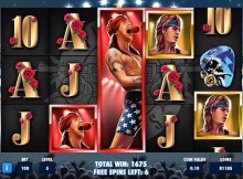 gunsnroses slot machine