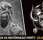 Iron Maiden vs. Motörhead party - 25.06.2016. - flyer