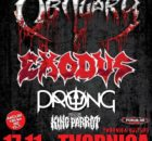 Obituary Exodus plakat