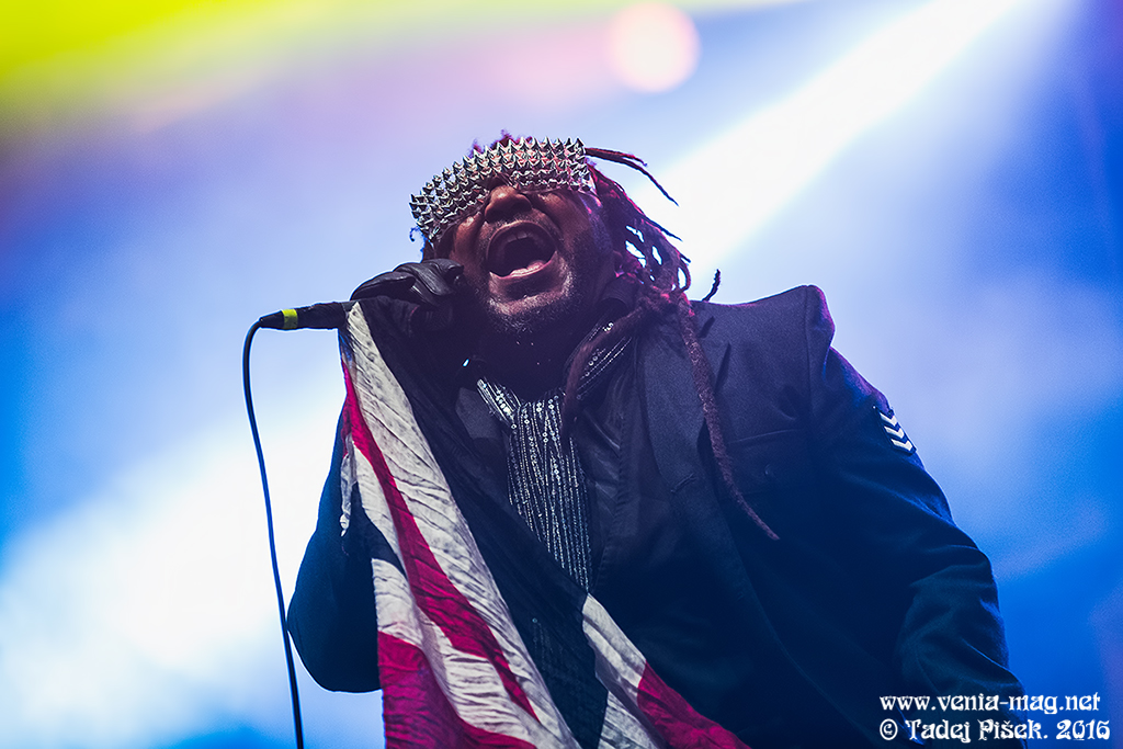 Metaldays 2016, day 2; Skindred